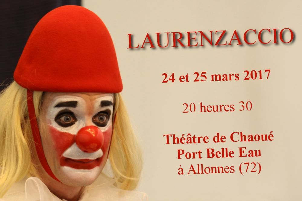 «Laurenzaccio» au Théâtre de Chaoué Port Belle Eau