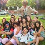 Sr. Plop en Festival Patacomicos. El Bolson. Argentina.