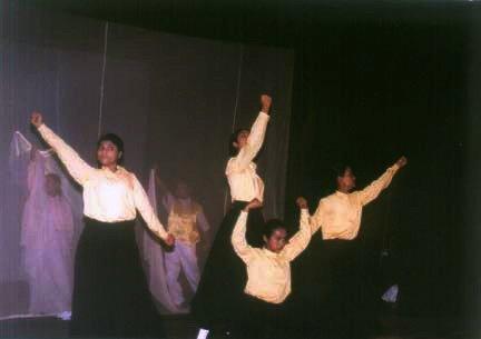 Dhaka Pantomime Children Mime Troupe of  Bangladesh.
