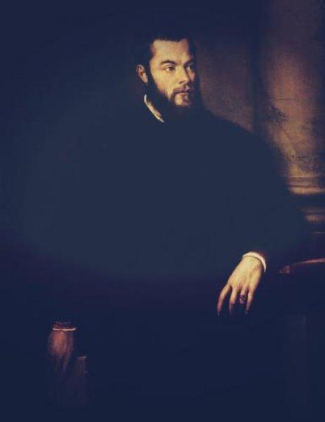 Benedetto Varchi par Tiziano