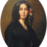 George Sand par Auguste Charpentier