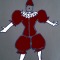 Croquis de Mario de Gonzalez pour le costume de «Laurenzaccio»