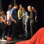 La classe «Option Théâtre»