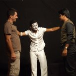 MIME WITH MEN